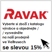 Akce Topení Vávra 15% Ravak