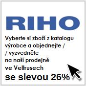 Akce Topení Vávra 26% Riho